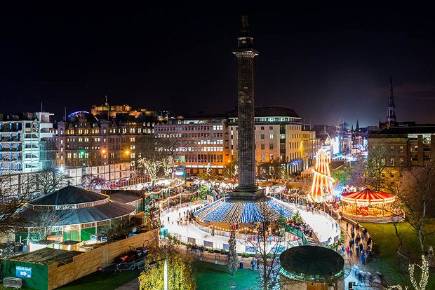 Edinburgh Christmas Weekend: NOW £279pp